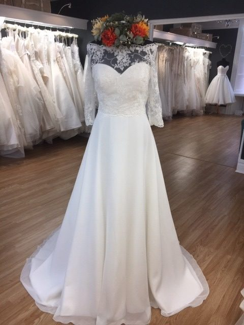 Image 2 of Amore Brides Sunderland Gowns to go. Maisie, size 12, £490